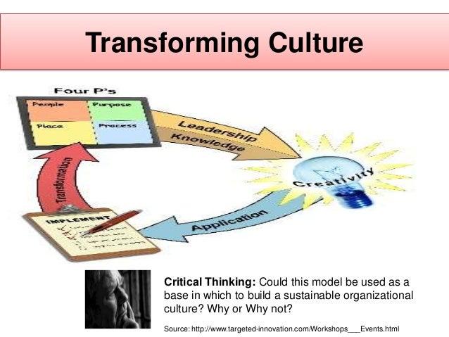 A critical examination of leaders create organizational culture