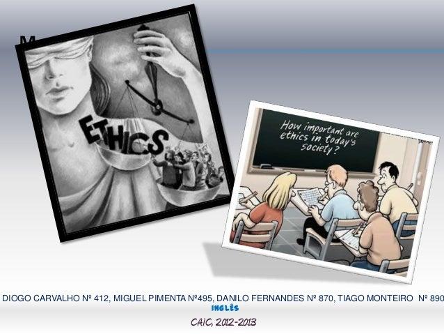 MDIOGO CARVALHO Nº 412, MIGUEL PIMENTA Nº495, DANILO FERNANDES Nº 870, TIAGO MONTEIRO Nº 890                              ...