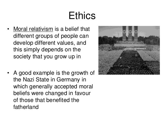 ethical relativism and cannibalism Ethical relativism: in this lecture, we will discuss a moral theory called ethical   of whether or not cannibalism is morally wrong for some person will be a relative .