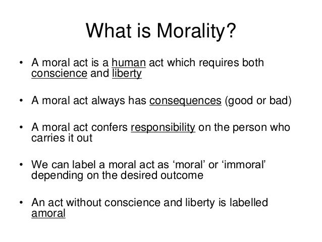 What is moral obligation