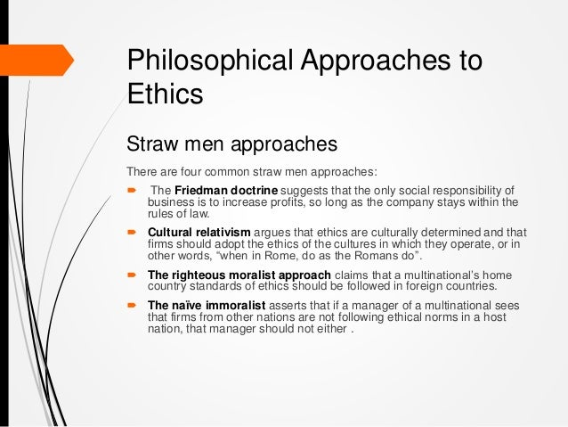 Five Basic Approaches to Ethical Decision-Making
