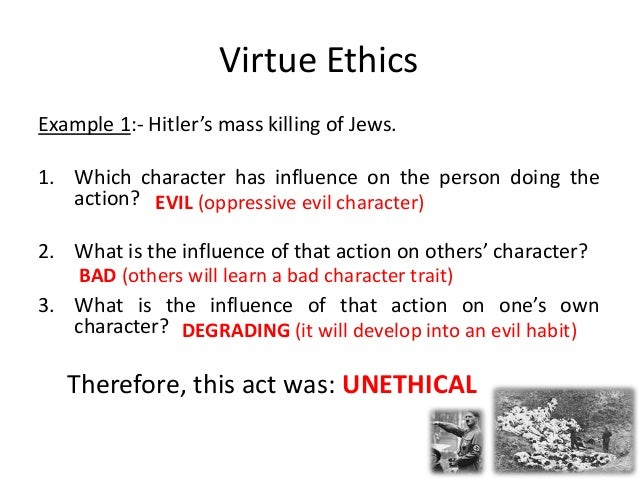 Virtue ethics in the workplace: approach & examples video.