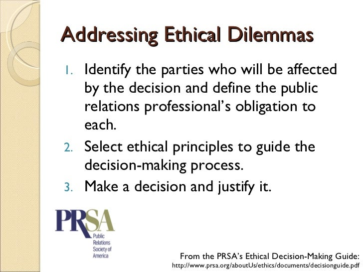 can public relations be ethically moral Moral judgment means a discernment of ethics based on character and  by  using moral judgment, pr pros can help all of public relations.