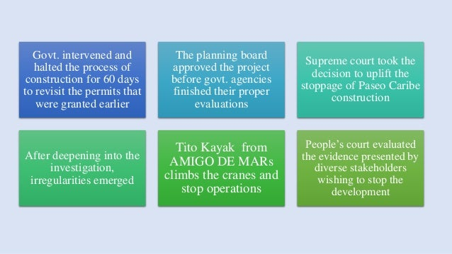 Trouble in Paradise: Stakeholder Conflict in the Paseo Caribe Project