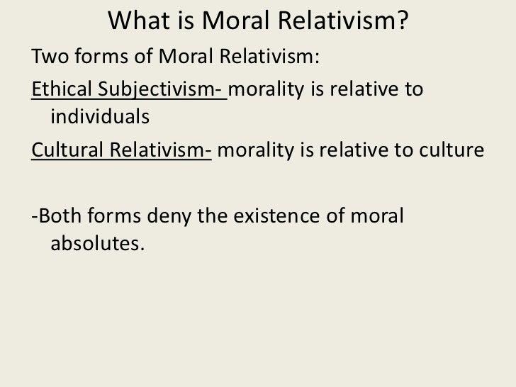 descriptive moral relativism