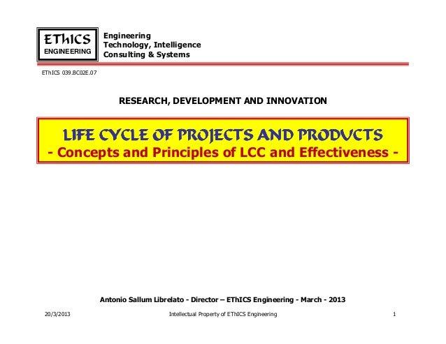 EngineeringEThICS                Technology, IntelligenceENGINEERING                      Consulting & SystemsEThICS 039.B...