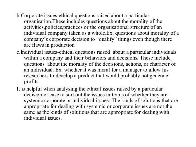management ethics chapter 1 Ethics are highlighted via position statements from the association for behavior analysis essentially, these statements lay out the rights individuals have to effective behavioral treatments and to an effective chapter 1 behavior management models.
