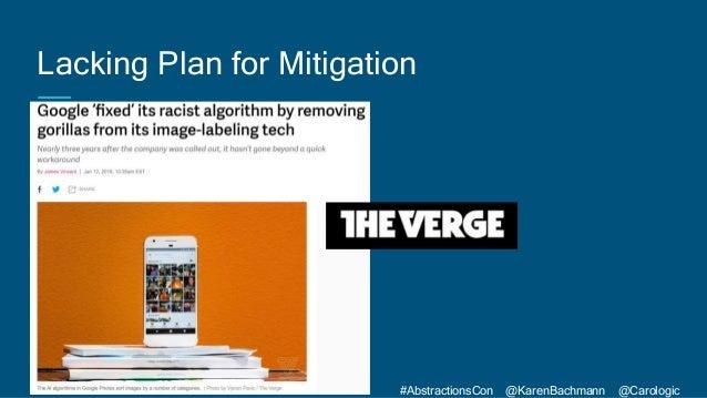 #AbstractionsCon @KarenBachmann @Carologic Lacking Plan for Mitigation