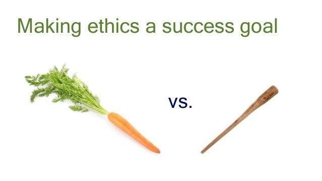 #AbstractionsCon @KarenBachmann @Carologic vs. Making ethics a success goal