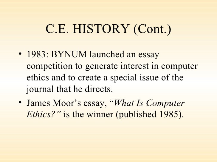 history of computers essay  kristen picciano 9/13/14 history of the computer could you imagine life without computersnot just computers but any smart device like your iphone, ipad, xbox etc.