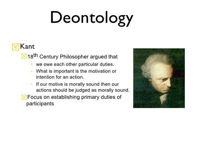 Kant and Mills Theories