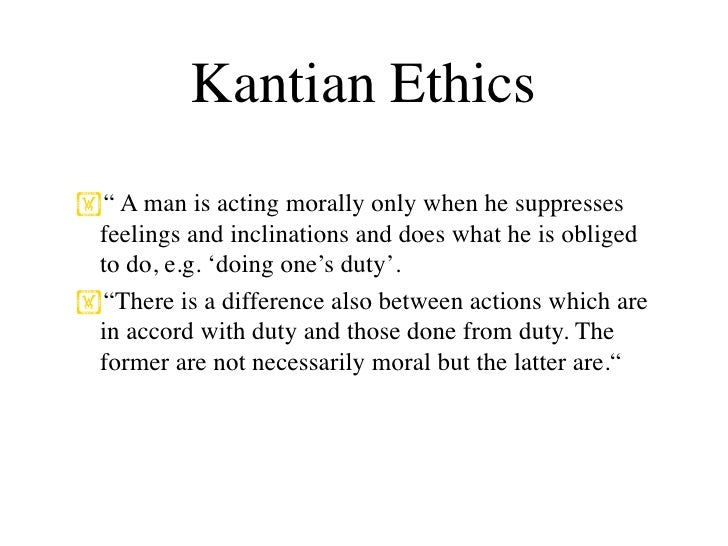 an analysis of kantian philosophy of morality I present a detailed critical evaluation of kant's ethical theory, most particulary, the categorical imperative.