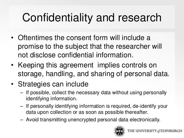 Personal Confidentiality Agreement
