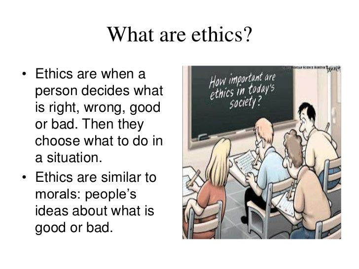 good and bad ethics Or, perhaps worse, does it simply turn good people bad  these examples also  show how finding a new spin on an ethically acceptable.