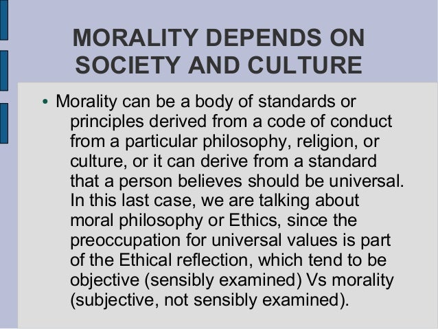 Morality without religion essay