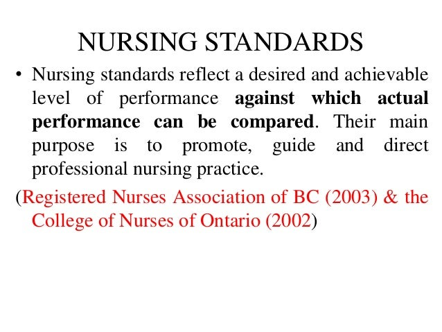 Ethics And Patient Care Standards