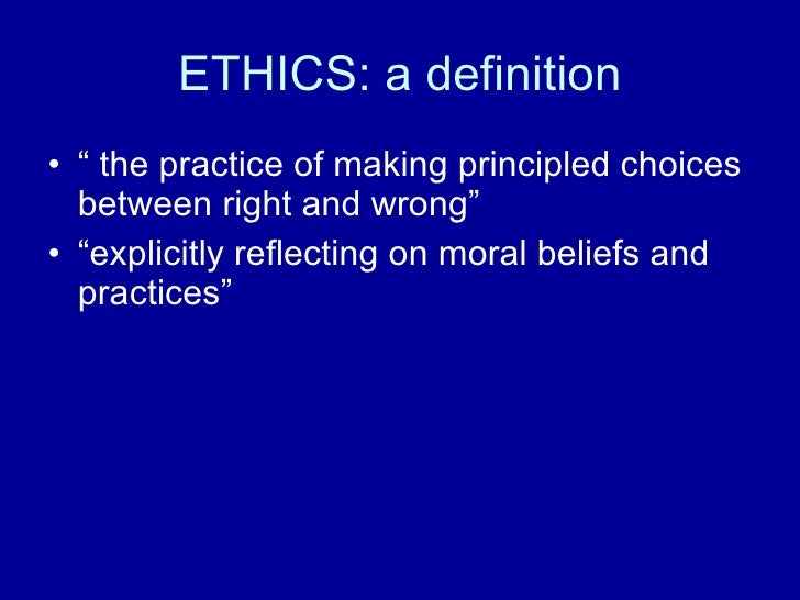 ethics and sport