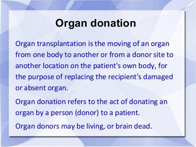 Benefits of body donation