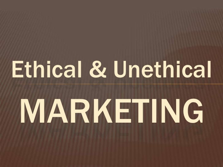 What Is the Difference Between Unethical & Ethical Advertising?