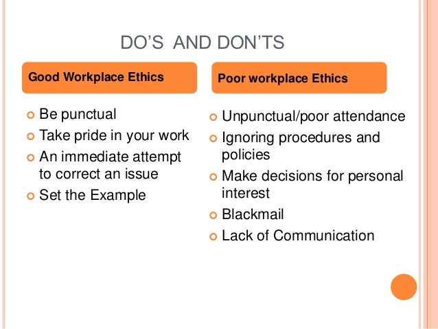 Ethics at work place workplace ethics 28 publicscrutiny