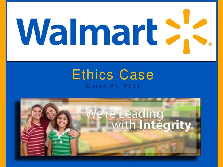 ethics and compliance paper walmart