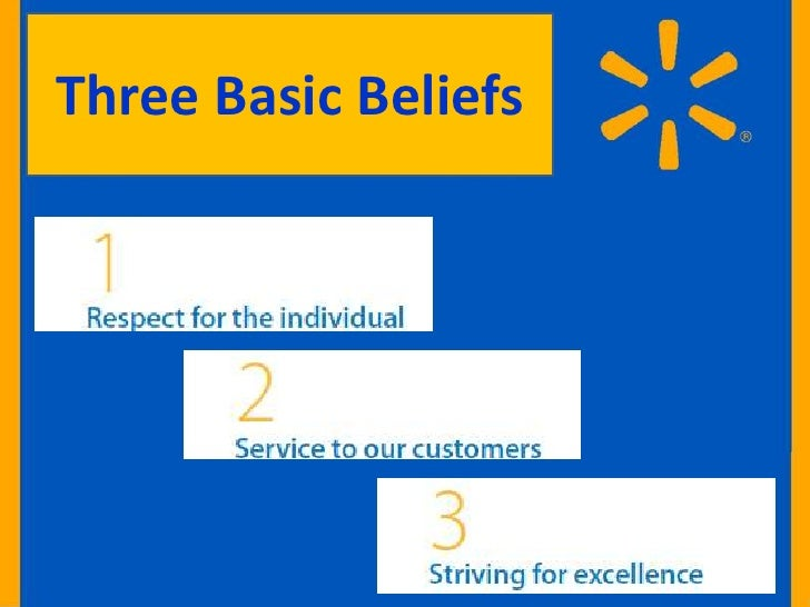 3 basic beliefs and integrity walmart essay Different rules regulations ideas policies procedures and  different rules, regulations, ideas, policies,  walmart's code of conduct has 3 basic beliefs.