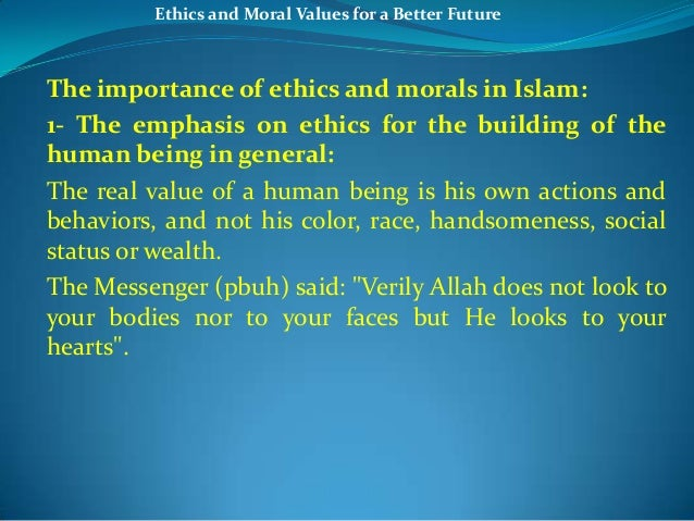 debate on moral values