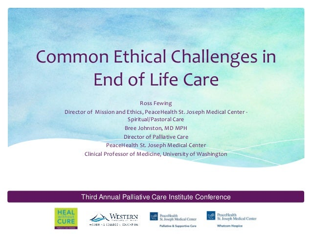 end of life care where ethics meet economics