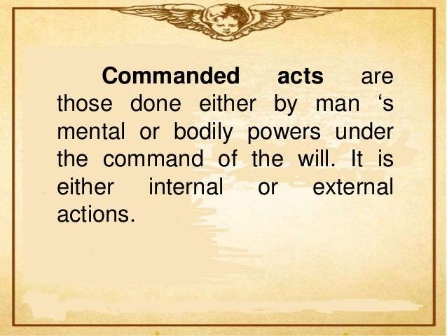 Examples          ofinternal actions areconsciousreasoning, recallingsomething, encouragingoneself, controllingarouse     ...