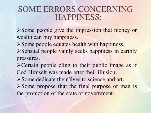 NATURAL ANDSUPERNATURAL  HAPPINESS