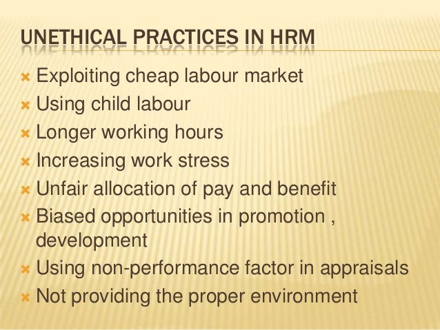 practice of hrm Pfeffer (1998) claims seven hrm practices that all firms could success if they apply these seven the first one is selective recruitment and selection the ' selective' is a central part of it and a sophisticated way to recruit and select the talents the second one is extensive training-employees get development.