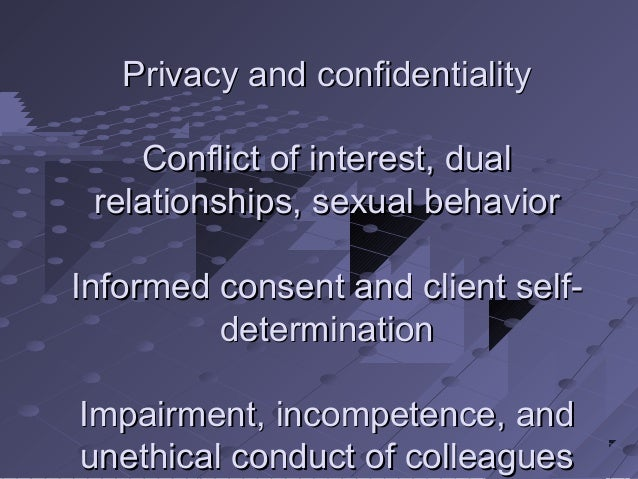 tarasoff confidentiality and informed consent Key words: tarasoff, duty to warn, duty to protect, confidentiality the practice  ofmedicine  der which circumstances physicians had a duty to inform or protect  (10)  nation is made to breach confidentiality, obtaining consent from the  patient.