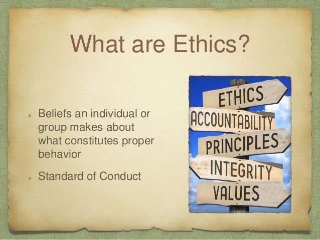 Types of Ethics Mandatory Ethics Must do or Must not do Actions that are safe and legal Aspirational Ethics More the meeti...