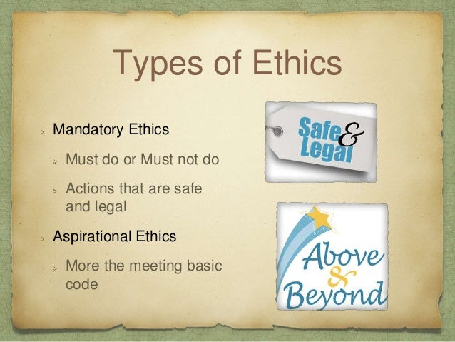 Ethical Codes Ethics are not absolute in all situations Ethical Codes are not Cookbooks Consider the code within professio...