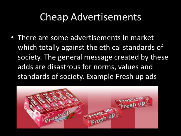 examples of unethical advertisement on pakistan Unethical advertising : by nilesh goswami(1011526) rahul m(1011531) ritesh agarwal(1011532) unethical advertising.