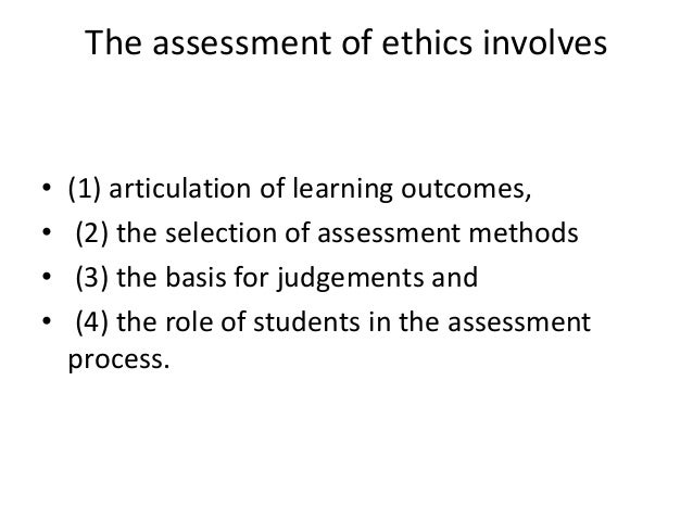 assessment 1 ethics Chapter 1 use of assessment procedures in counseling 3  arship, depth of experience with assessment in counseling, and sheer desire to be helpful to the reader are apparent on every page it is a pragmatic book, focusing on what has been useful to oth-  communications, and ethics in the use of tests.