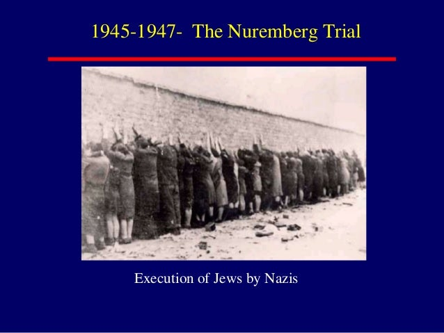 nuremberg trials essay A brief look at the nuremberg trials and some of the people involved it steps upon the problems leading to the start of the trials including three of the doctors.