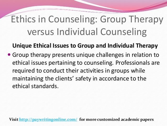 essay on ethical issues in counselling