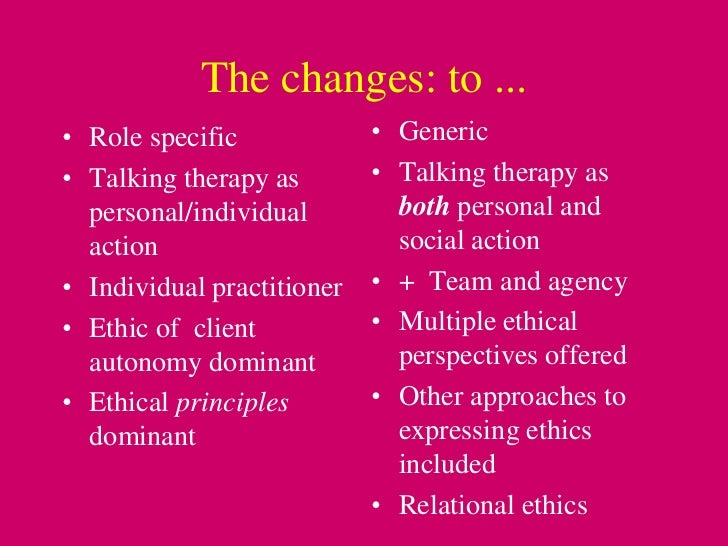 counselling ethics In this lesson, we will be looking at the ethical issues a new counselor should be familiar with and prepared to handle these issues include.