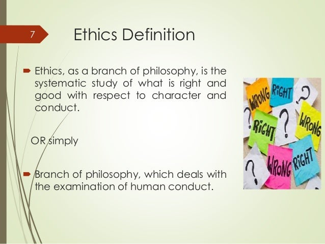 how to write ethics statment