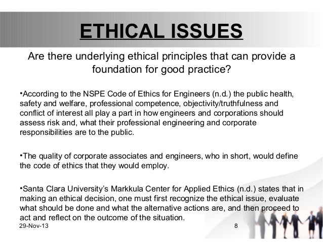 Ethics in engineering presentation