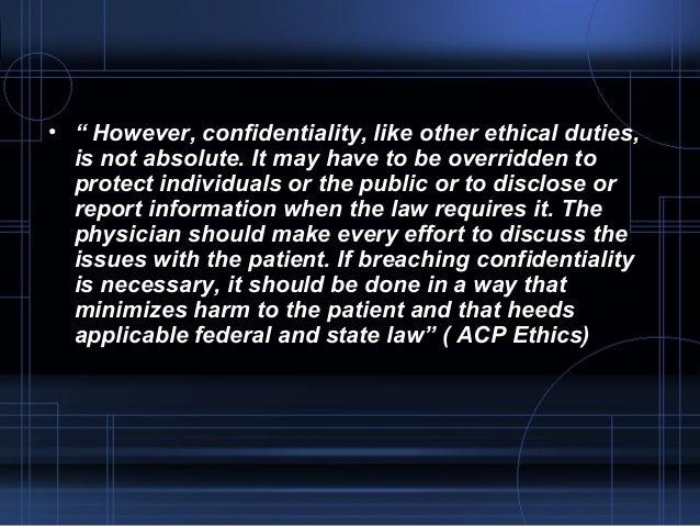 Ethics in medicine Slide 3