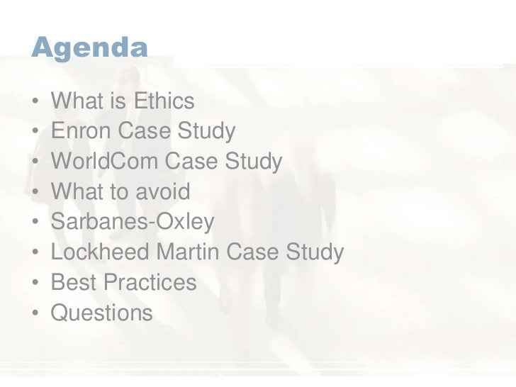 the organizational ethics of lockheed martin essay Executive summary in the aftermath of recent  management of the  organization's ethical culture  lockheed martin, at the annual chairman's  meet.