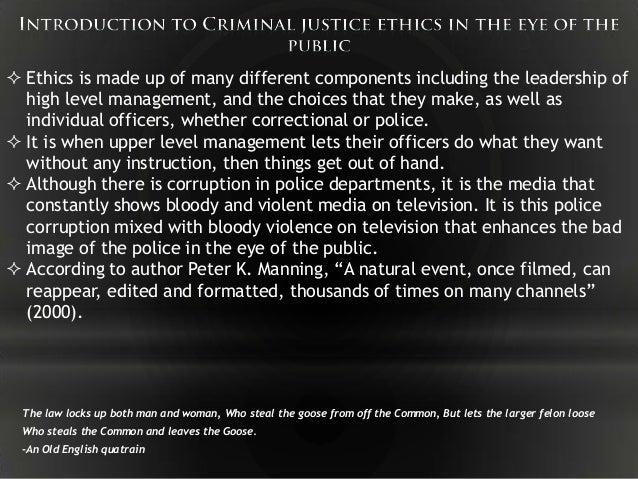Criminal Justice Research Proposal Topics