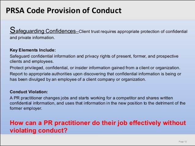 Intellectual Property Ethical Violation