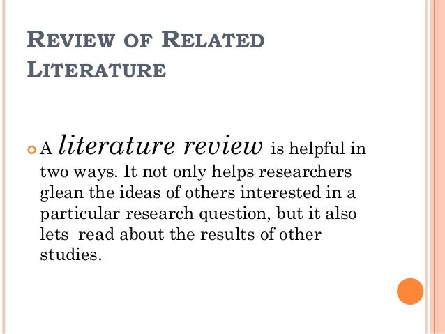 literature review on research ethics 31 the policy on research ethics is not intended to restrict or discourage research at  its ethics review committees and to require submission of regular reports.