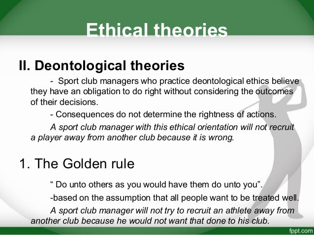 ethical theory and bullying in sports Bullying at school, roth and bibi (2010) examined types of internalization for pro-social valuesand their linkswith bullying and with students' sense of relatednessor connection to the class.