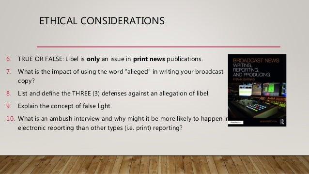 ethics of journalism