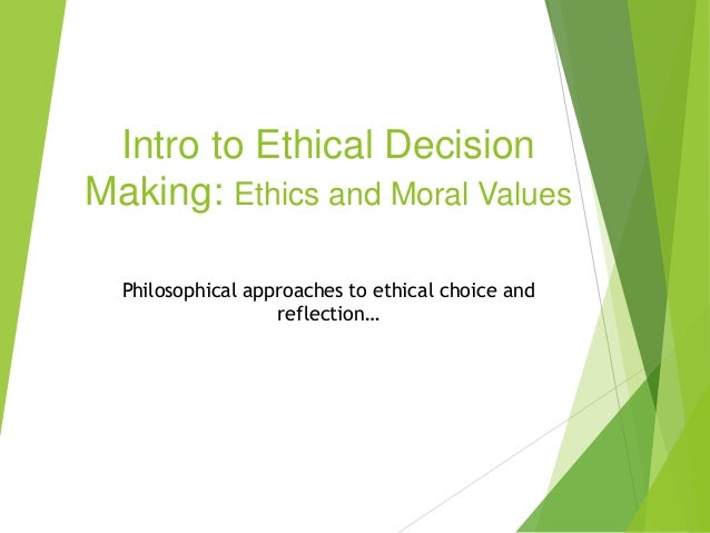 intro to ethics Sample syllabus: introduction to ethics course description: this 10-week course serves as an introduction to philosophy through a.
