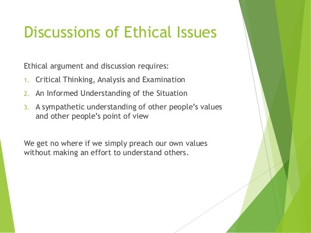 "an examination of ethical issues Casebook on ethical issues in international health research this casebook is the result of a collaborative effort titled ""the."